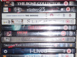 New DVDs: Horror Films (price per dvd, cheaper in quantity)
