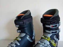 ski boots, skiing, winter, salomon, 9.0 evolution, mens