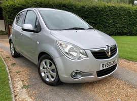 Vauxhall Agila, 2010 (60) 1.2 Design Silver Hatchback, Manual Petrol, 38,600 miles