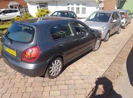 Nissan Almera, 2005 (55) Grey Hatchback, Manual Petrol, 55,000 miles