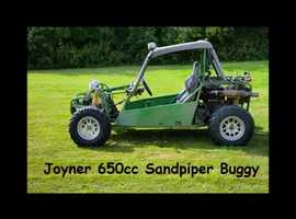 JOYNER 650cc OFF-ROAD 2 SEAT BUGGY WITH FREE TRAILER