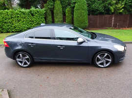 2011 (61) VOLVO S60 2.0 R-DESIGN D3 GREY 5DR FSH NAV MOT END NOV 21 HPI CLEAR