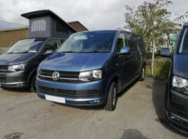 2019(19) 150bhp DSG VW T6 in Accupulco Blue Campervan - Highline, LWB. Awaiting Conversion