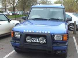 Land Rover Discovery, 2001 (Y) Blue Estate, Automatic Diesel, 144,000 miles
