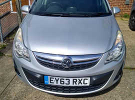 Vauxhall Corsa, 2013 (63) Silver Hatchback, Manual Petrol, 92,000 miles