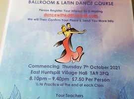 NEW BEGINNERS BALLROOM & LATIN CLASS