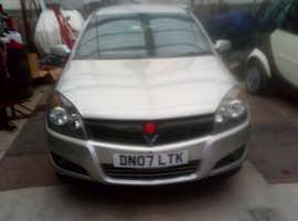 Vauxhall Astra, 2007 (07) Silver Hatchback, Manual Diesel,