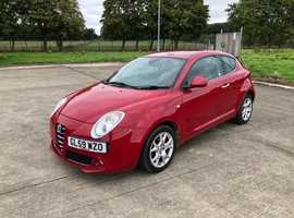 Alfa Romeo Mito i.4, 2010 (59) Lusso (red) Hatchback, Manual Petrol, 56,000 miles