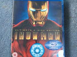 Unopened Iron Man Bluray
