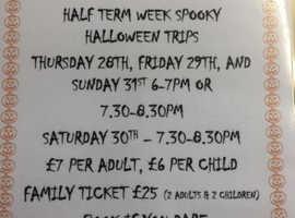 Spooky Evening Halloween Boat Trips