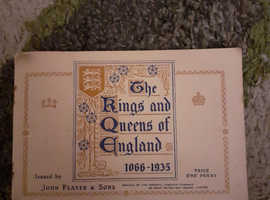 The kings and queens of England 1066 -1935