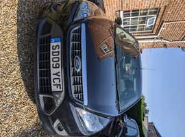 Ford Focus, 2009 (09) Black Hatchback, Manual Petrol, 56k miles