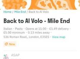 Back to Al Volo Italian food to go