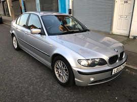 BMW 3 Series, 2003 (03) silver saloon, Manual Diesel, 112,976 miles