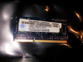 2GB memory nanya upgrade for Acer