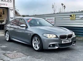 2014/64 BMW 530d 3.0 M-Sport Auto [8] finished in Space Grey Metallic.  66513 miles