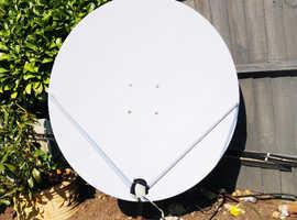 1.2m Satellite antenna and accessories