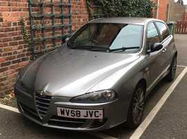 Alfa Romeo 147, 2008 (58) Grey Hatchback, Manual Diesel, 89,000 miles