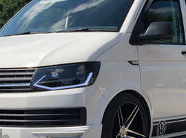 Starlight T6 VW Transporter campervan hire from £100 per day Fully insured with full breakdown and roadside assistance. Prices vary depending on which