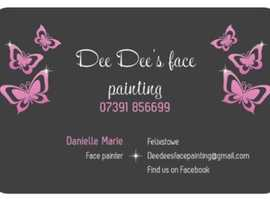 Face painter available