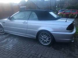 BMW 3 Series, 2001 (51) Silver Convertible, Manual Petrol, 121,000 miles