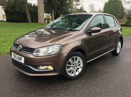 Volkswagen Polo, 2015 (15) Java Brown Hatchback, Manual Petrol, 14,200 miles