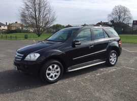Mercedes M-CLASS, 2006 (06) Black Estate, Automatic Diesel, 101,795 miles