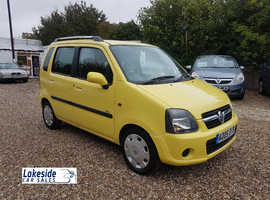 Vauxhall Agila 1.2 Litre 5 Door Hatch, Full Service History, New MOT, Only 2 Owners.