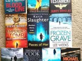 £1 for 2 books: Selection of Crime / Thriller / Suspense Novels