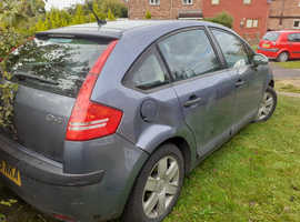 Citroen C4, 2006 (06) Grey Hatchback, Manual Petrol, 80,000 miles