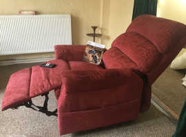As good as new Electric recliner.