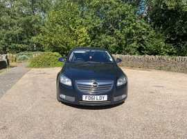 Vauxhall Insignia Elite Nav Eco cdti Turbo Diesel 2.0cc 160bhp 6 speed 5 door h/back 61/2011 2 former keepers 169k full service history 8 stamps in bo