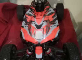 1/8 scale rc 6s python team corally will take offers
