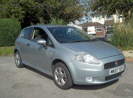 Fiat Grande Punto, 2007 (07) Grey Hatchback, Manual Petrol, 108,459 miles