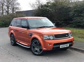Land Rover Range Rover Sport, 2005 (05) Orange Estate, Automatic Petrol, 114,000 miles