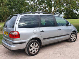 Ford Galaxy, 2004 (04) Silver MPV, Manual Diesel, 192,689 miles
