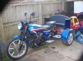 Kawasaki gt 750 Trike project,