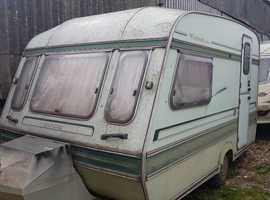 Double glazed caravan for storage / refurb