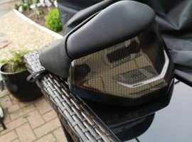 Suzuki bking rear seat