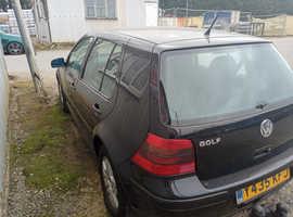 Volkswagen Golf, 2001 (Y) Black Hatchback, Manual Petrol, 170,430 miles