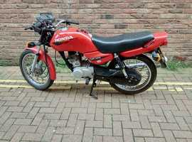 RED HONDA CG125 MOT UNITL DEC 2019  CLEAN TIDY BIKE  LINCOLNSHIRE AREA