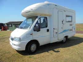 2005 FIAT DUCATO -2 LITRE - 4 BERTH - 25,OOO MILES SPECIAL OFFER REDUCED BY £1000 in Clacton-On-Sea