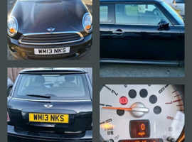 Mini MINI, 2013 (13) Black Hatchback, Manual Petrol, 050,441 miles
