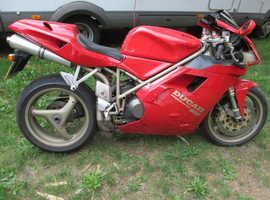 Ducati 916 low mileage
