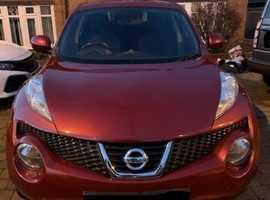 Nissan Juke, 2012 (62) Red Hatchback, Cvt Petrol, 75,410 miles