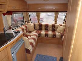 2005 swift charisma 4 berth fixed bed touring caravan