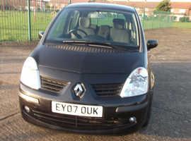 Renault Modus, 2007 (07) Black Hatchback, Automatic Petrol, 31,127 miles