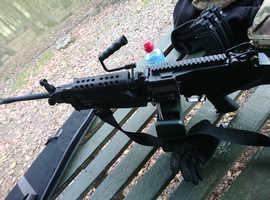 Classic Army MK2 M249 SAW LMG airsoft gun