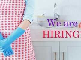 URGENT CLEANERS REQUIRED IN BECKENHAM!!!