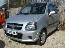 Vauxhall Agila, 2005 (05) Silver MPV, Manual Petrol, 35,290 miles